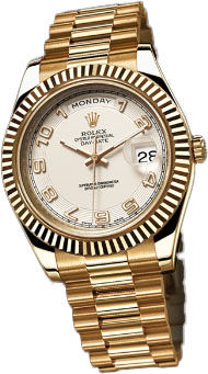 218238 Ivory Rolex Day-Date II Archive