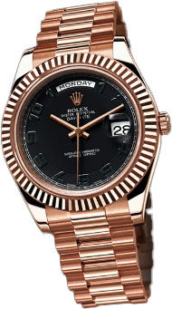 Rolex Day-Date II Archive 218235 Black