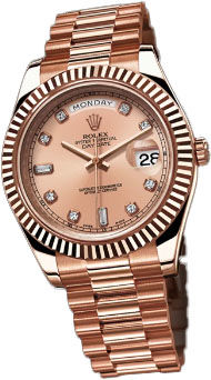 Rolex Day-Date II Archive 218235 Pink Diamonds