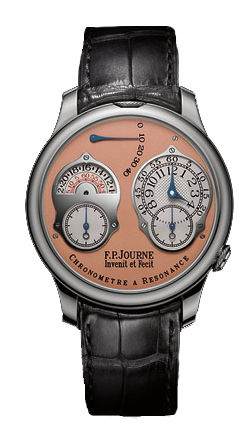 F.P.Journe Souveraine Chronometre a Resonance Platinum pink