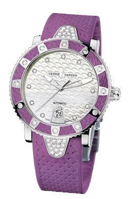 8103-101E-3C/10.17 Ulysse Nardin Diver Lady
