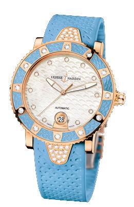 8106-101E-3C/10.13 Ulysse Nardin Diver Lady