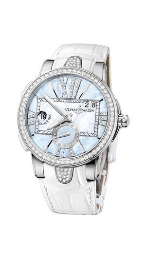 Ulysse Nardin Executive Dual Time Lady 243-10B/393