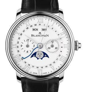 6685-1127-55B Blancpain Villeret Moon Phase