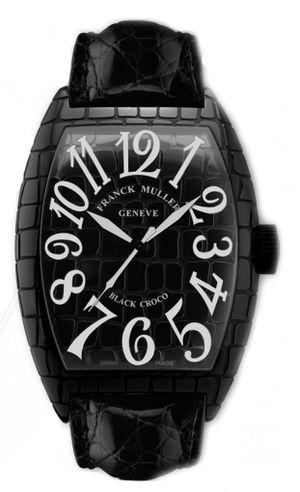 Franck Muller Casablanca 8880 SC BLACK CROCO