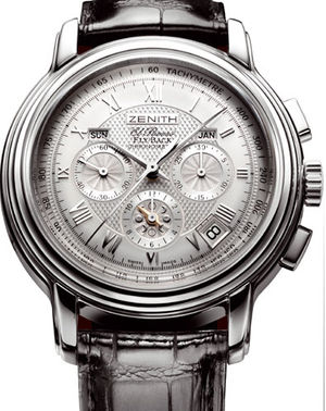 65.1250.4009/01.c495 Zenith Chronomaster Old model