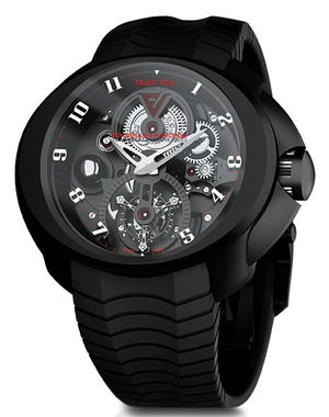 New model 2011 - Tourbillon Intrepido Franc Vila Montre Contemporaine Grande Complication