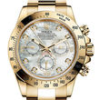 Rolex Cosmograph Daytona 116508 White mother-of-pearl set with diamonds