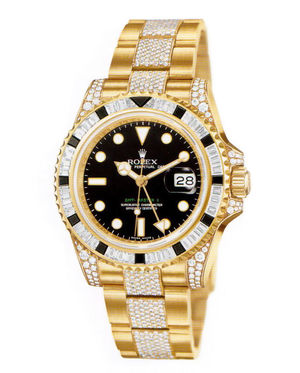 116758 SANR bracelet diamonds Rolex GMT-Master II