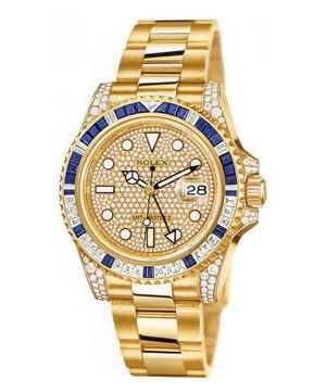 Rolex GMT-Master II 116758 SA pave