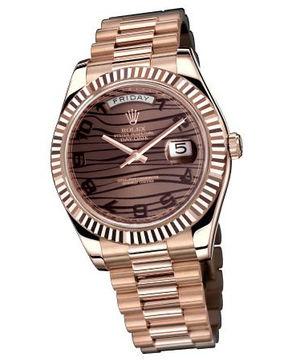 218235 bronze wave dial bronze Arabic numerals Rolex Day-Date II Archive