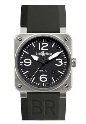 Bell & Ross BR 03-92  BR 03-92 New Steel
