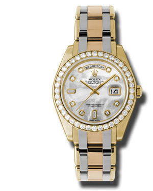 Rolex Day-Date Special Edition Archive 18948 Tridor mother of pearl dial