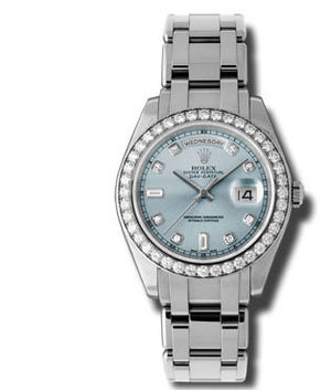 18946 glacier blue dial Rolex Day-Date Special Edition Archive