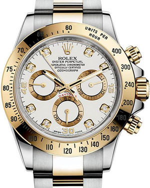 Rolex Cosmograph Daytona 116503 White set with diamonds