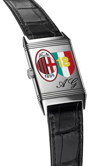 Jaeger LeCoultre Reverso Classic new model-2011 AC Milan