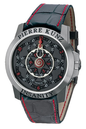 Pierre Kunz Complication G019 MV Black&Red