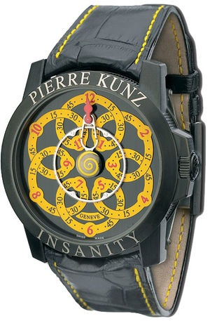 Pierre Kunz Complication G019 MV Black&Yellow