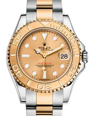168623 Champagne Rolex Yacht-Master