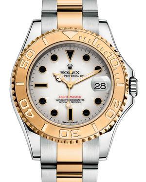 168623 White Rolex Yacht-Master