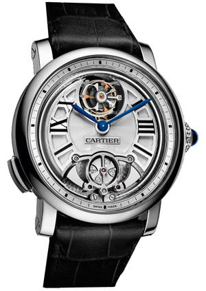 Rotonde de Cartier Minute Repeater Flying Tourbill Cartier Calibre de Cartier