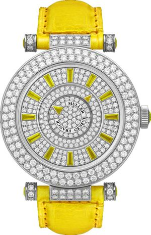 42 DM D2R CD Yellow Franck Muller Double Mystery