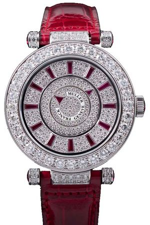 42 DM D1R CD Ruby Croco Franck Muller Double Mystery
