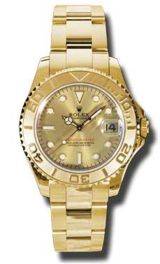 Rolex Yacht-Master 168628 champagne dial