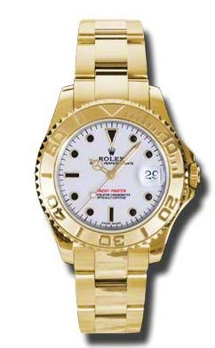 Rolex Yacht-Master 168628 white dial