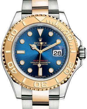16623 Blue Rolex Yacht-Master