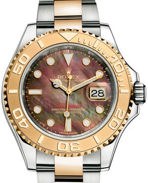 Rolex Yacht-Master 16623 Black mother-of-pearl
