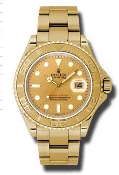 16628 champagne dial Rolex Yacht-Master