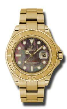 Rolex Yacht-Master 16628 dark mother of pearl dial