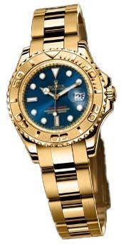 169628 blue dial Rolex Yacht-Master
