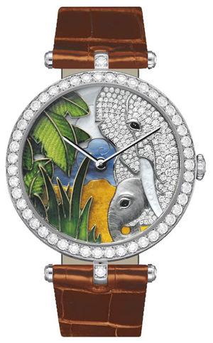 Van Cleef & Arpels Extraordinary Dials™ Elephant Decor