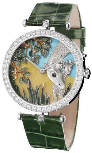 Van Cleef & Arpels Extraordinary Dials™ Giraffe Decor
