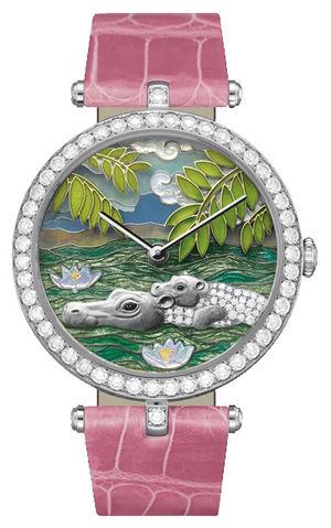 Van Cleef & Arpels Extraordinary Dials™ Hippopotamus Decor