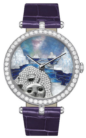 Van Cleef & Arpels Extraordinary Dials™ Seal Decor