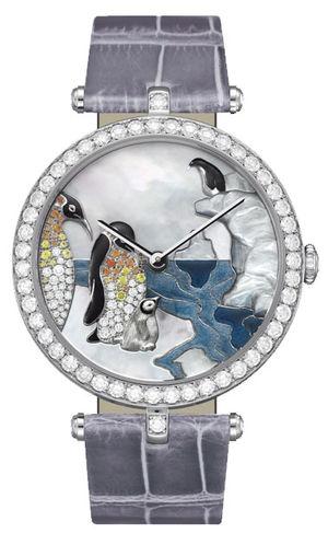 Van Cleef & Arpels Extraordinary Dials™ Penguin Decor