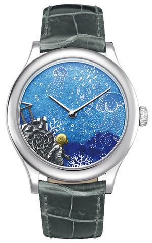 Van Cleef & Arpels Extraordinary Dials™ Twenty Thousand Leagues under the Sea