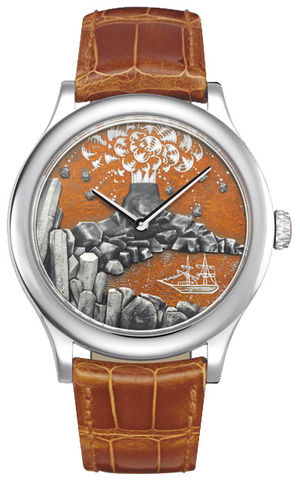 Van Cleef & Arpels Extraordinary Dials™ A Journey to the Center of the Earth