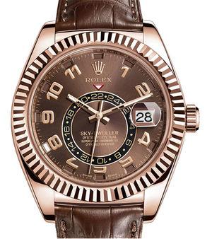 326135 Chocolate Rolex Sky-Dweller