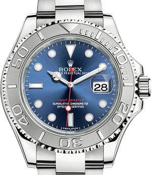 116622 blue Rolex Yacht-Master