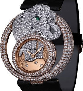 Cartier Creative Jeweled watches Cartier Elephant