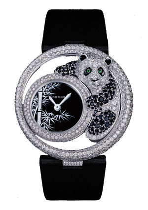 Cartier Creative Jeweled watches Cartier Panda