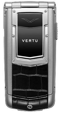 Vertu Ayxta Aluminium Black Alligator Skin