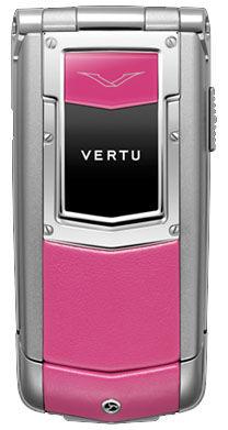 Vertu Ayxta Hot Pink Sapphire Keys