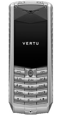 Vertu Ascent Gunmetal Vulcanised Rubber