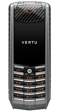 Vertu Ascent Titanium Carbon Fibre Black PVD Keys