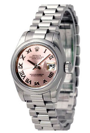 178246 pink dial Roman numerals Rolex Datejust 31